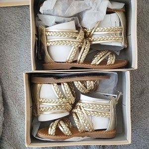 New Gold sandals